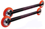 Paire de Rollerskis Stamina Racing Course srs 1.1 avec roues pu/alu